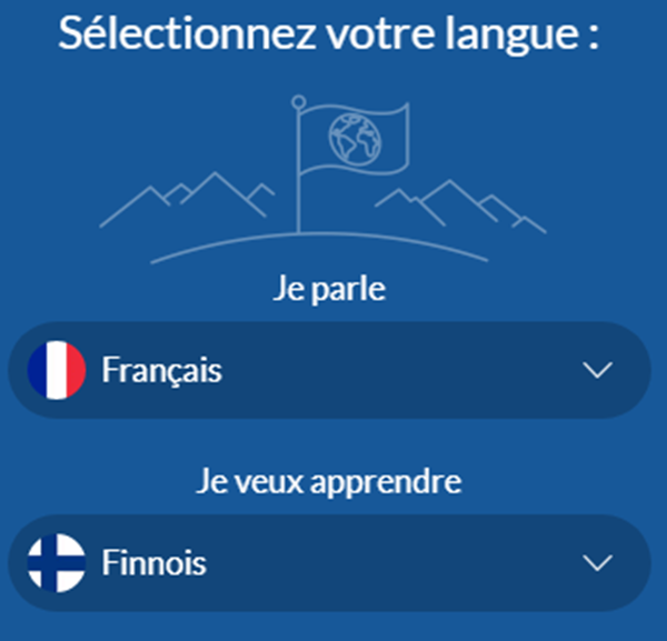 Finnish Learning Through French