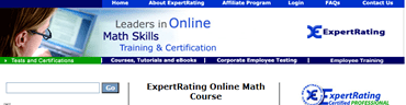 ExpertRating Math Certification