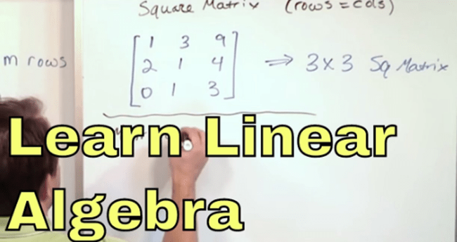How to Learn Linear Algebra Quickly