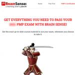 Brain Sensei PMP Prep Review
