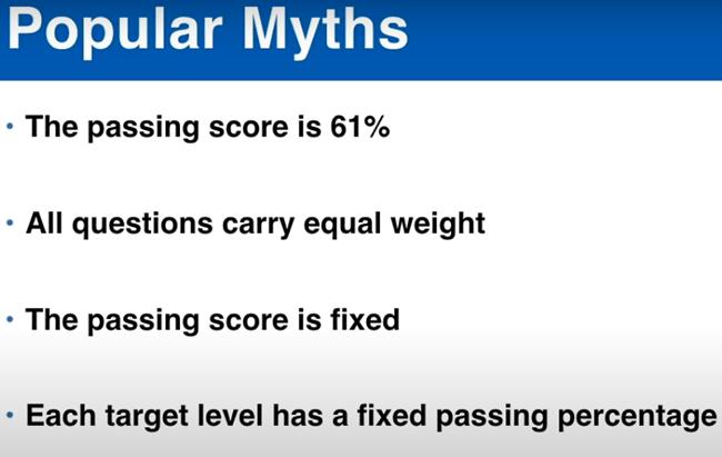 Popular PMP Passing Score Myths