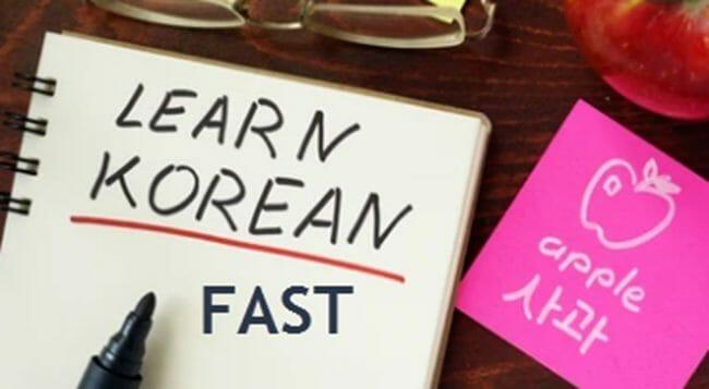 Learn Korean Fast
